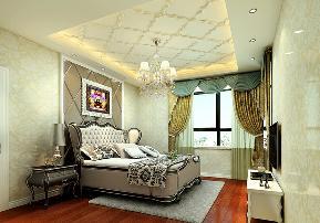 美式 温馨 时尚 80后 卧室图片来自武汉一号家居网装修在长江紫都美式风格实景图案例的分享