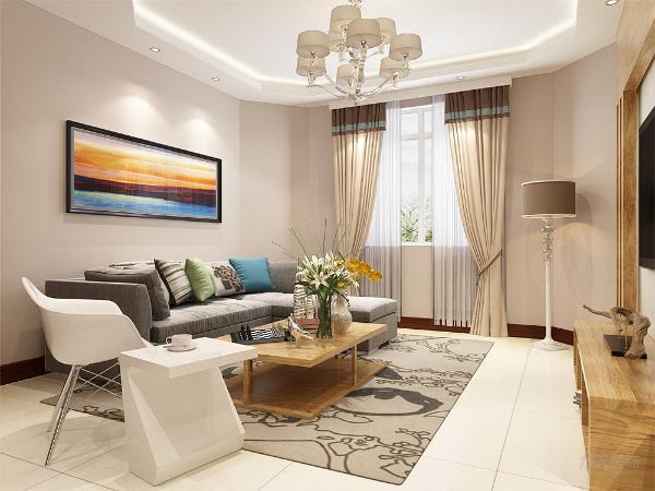 客厅作为家庭生活活动区域之一,它既是全家活动、娱乐、休闲、团聚、就餐等活动场所,又是接待客人对外联系交往的社会活动空间,是家居生活的核心区域。