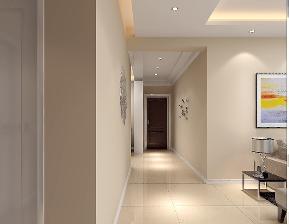 现代 三居 白领 温馨 玄关图片来自武汉一号家居网装修在保利中央公馆现代简约风格案例的分享