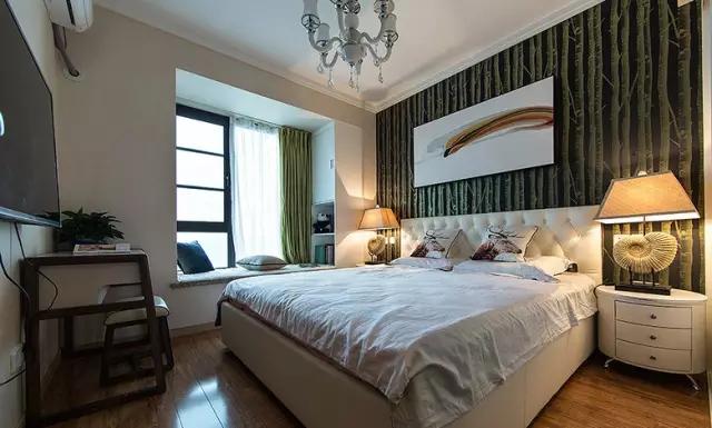 简约 三居 旧房改造 卧室图片来自实创装饰上海公司在100㎡现代简约风三居室的分享