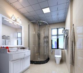 温馨 空间 干练 四居 80后 卫生间图片来自武汉一号家居网装修在大华南湖公园世家现代简约案例的分享