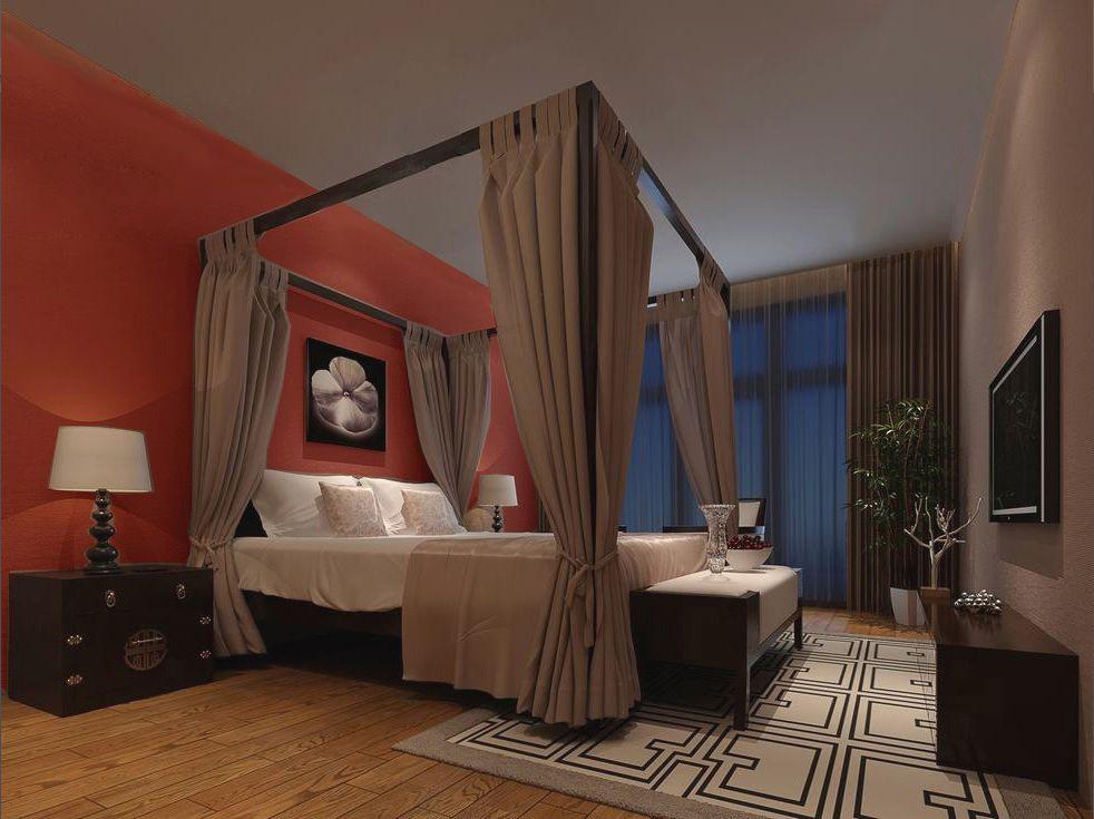 三居 东南亚风格 卧室图片来自轻舟装饰-90后的华仔在纳帕澜郡的分享