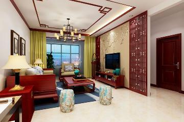 府东公馆106平米--新中式装修