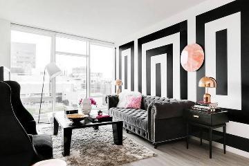 黑白变革时尚艺术气息