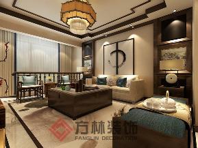 中式 新中式 白领 80后 小资 收纳 楼梯图片来自方林装饰在中海城提香140平中式风格的分享