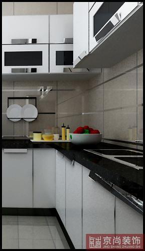 中式 小资 白领 厨房图片来自天津京尚装饰在花样年华郡 中式风格的分享