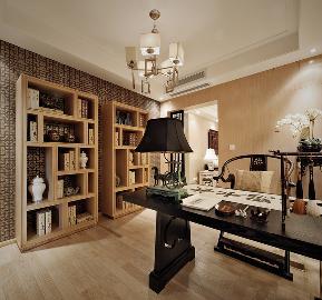 欧式 温馨 时尚 三居 小资 书房图片来自武汉一号家居网装修在菩提苑欧式风格实景图案例的分享