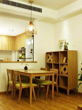 简约 二居 小清新 素雅 简洁 餐厅图片来自tjsczs88在清新淡雅生活风的分享