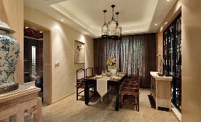 欧式 温馨 时尚 三居 小资 餐厅图片来自武汉一号家居网装修在菩提苑欧式风格实景图案例的分享