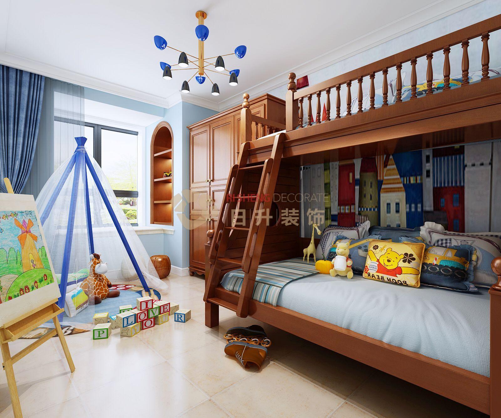 简约 欧式 田园 三居 白领 收纳 80后 小资 旧房改造 儿童房图片来自日升装饰秋红在一曲江山简约风格的分享