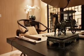 美式 温馨 时尚 三居 80后 小资 书房图片来自武汉一号家居网装修在凯德广场美式风格实景图案例的分享