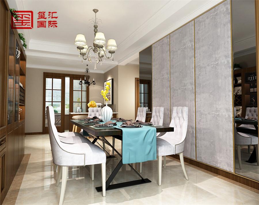 简欧 五室 玺汇国际 餐厅图片来自河北玺汇国际装饰公司在瀚唐 五室220平 简欧风格的分享