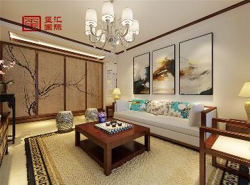 130平三室-新中式风格