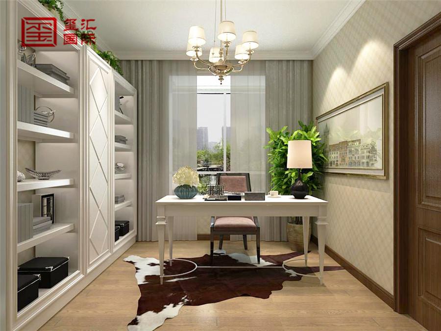 简欧 五室 玺汇国际 书房图片来自河北玺汇国际装饰公司在瀚唐 五室220平 简欧风格的分享