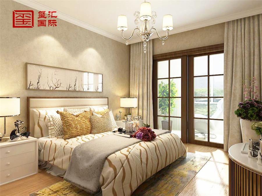 简欧 五室 玺汇国际 卧室图片来自河北玺汇国际装饰公司在瀚唐 五室220平 简欧风格的分享