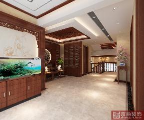 中式 古典 收纳 独特 楼梯图片来自天津京尚装饰在京尚装饰-美阳-中式四居的分享