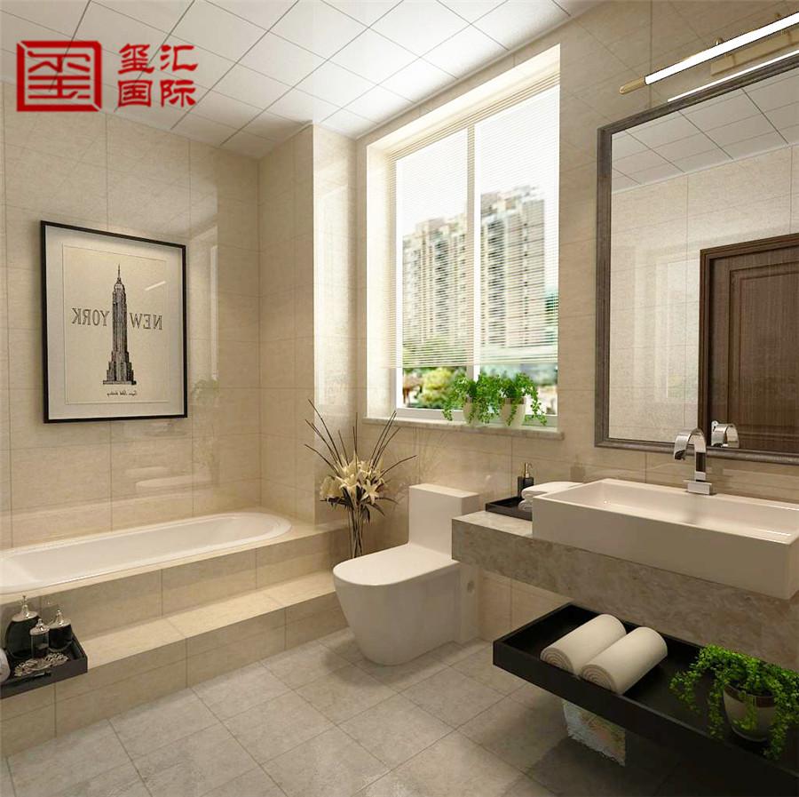 简欧 五室 玺汇国际 卫生间图片来自河北玺汇国际装饰公司在瀚唐 五室220平 简欧风格的分享