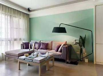 85平现代两居室小资情调!