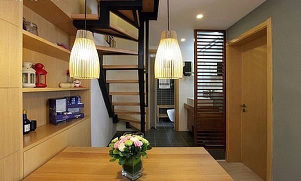简约 三居 现代 混搭 原木装修 餐厅图片来自成都V2装饰在原木时尚家居的分享