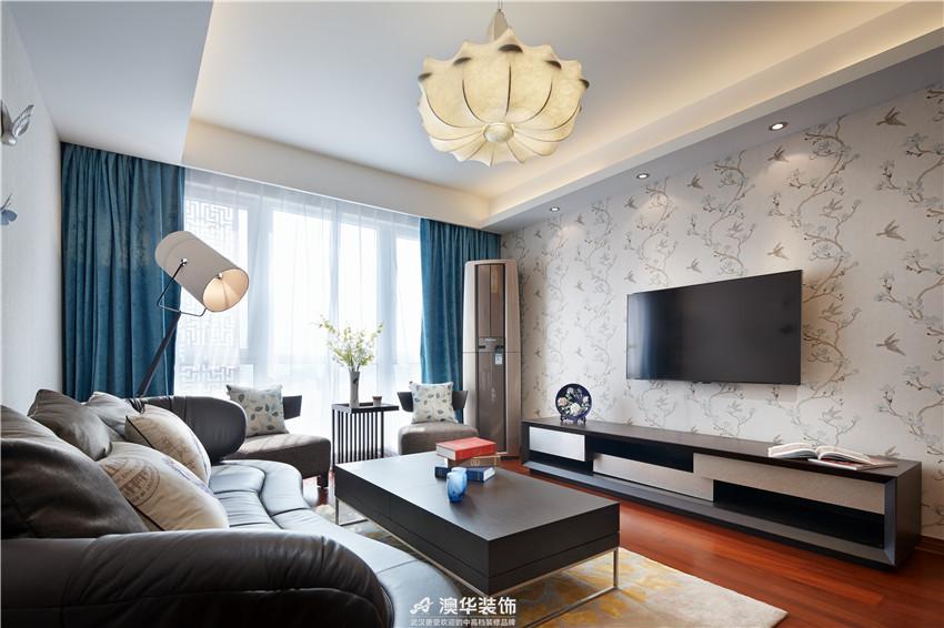 简约 现代 客厅图片来自澳华装饰有限公司在南国中心 · 解密现代优雅与时尚的分享