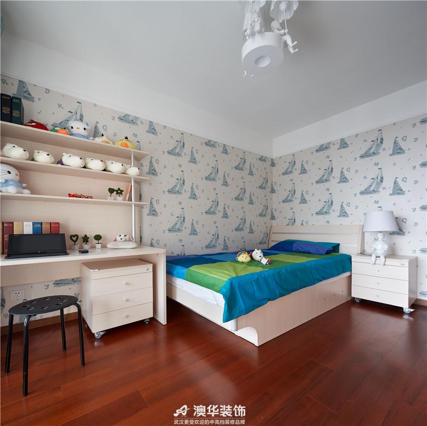 简约 现代 儿童房图片来自澳华装饰有限公司在南国中心 · 解密现代优雅与时尚的分享