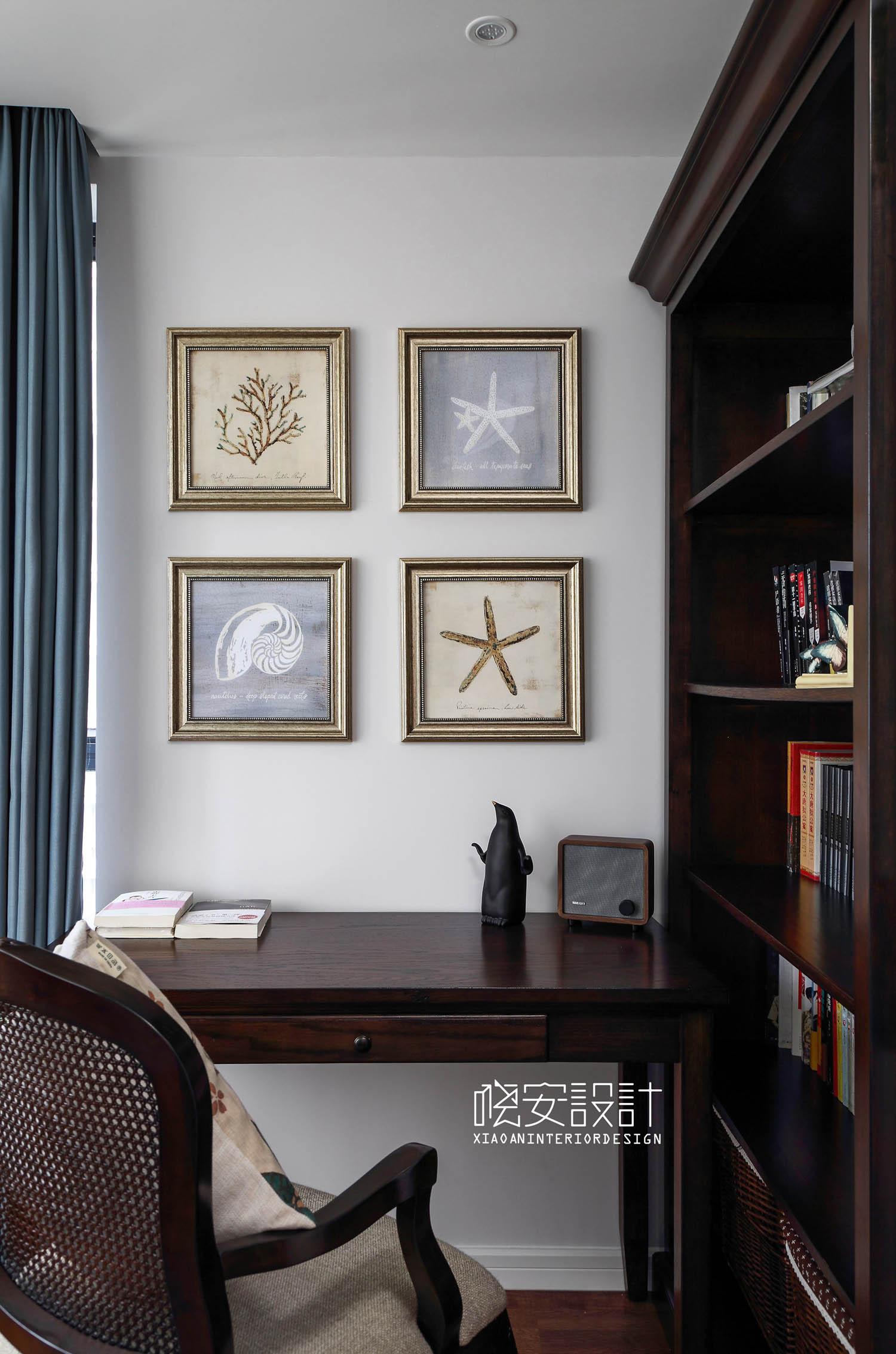 简约 80后 收纳 白领 小资 书房图片来自周晓安在晓安设计 又见八年的分享