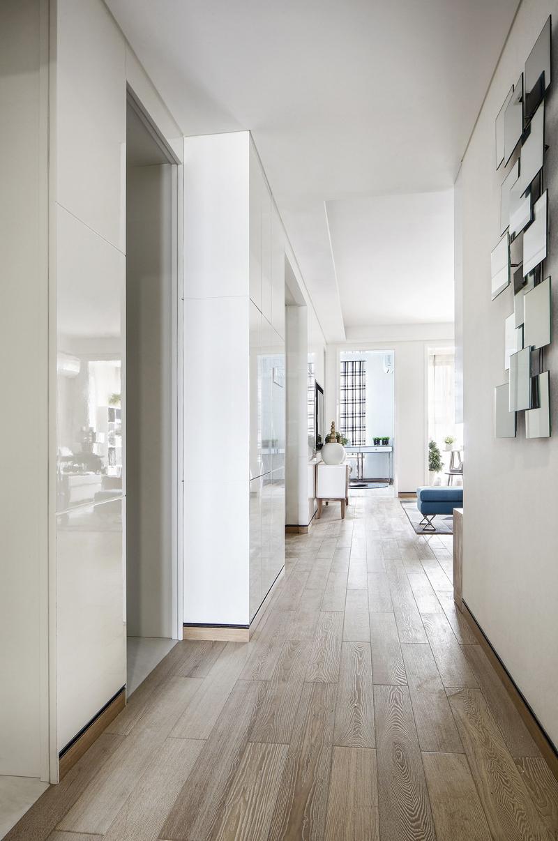 简约 公寓 收纳 其他图片来自张勇高级室内设计师在泛海国际时尚简约风格效果展示的分享