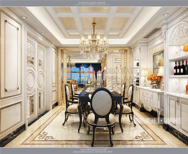 欧式 时尚 大气 日升装饰 西安公司 餐厅图片来自日升装饰公司在西市佳境218平米简欧设计的分享