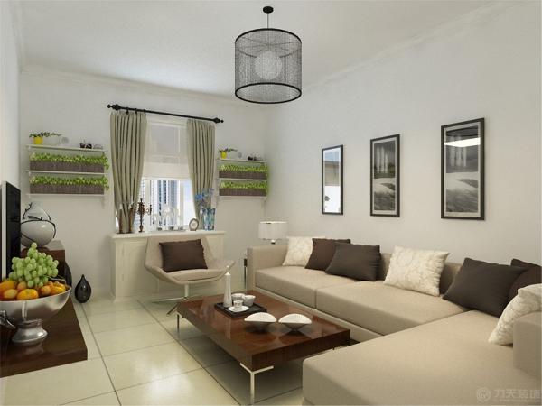 本案为云阳西里标准户型2室2厅1卫63㎡的户型。这次的设计风格定义为现代风格。