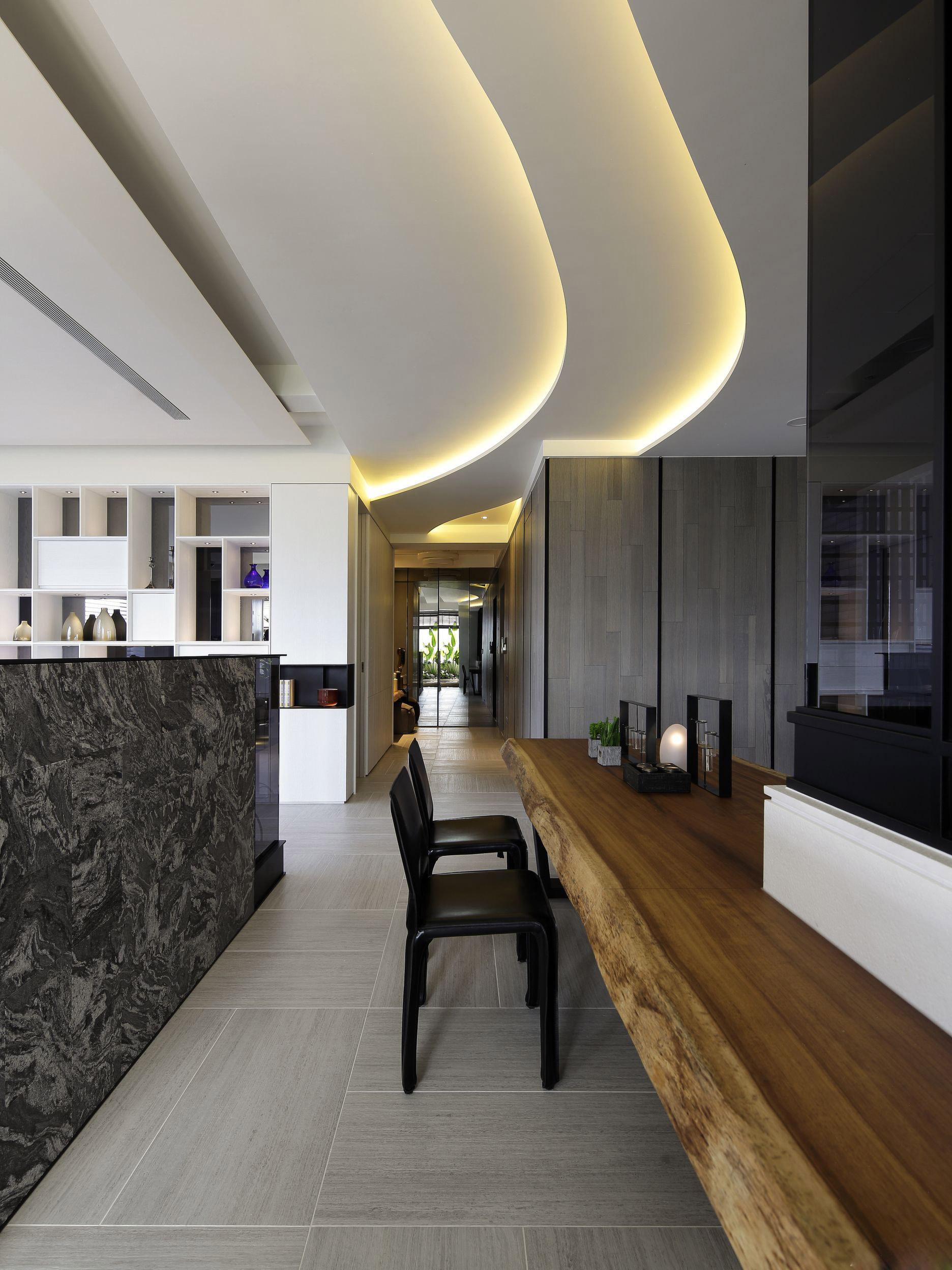 简约 别墅 餐厅图片来自张勇高级室内设计师在泛海国际现代简约风格效果展示的分享