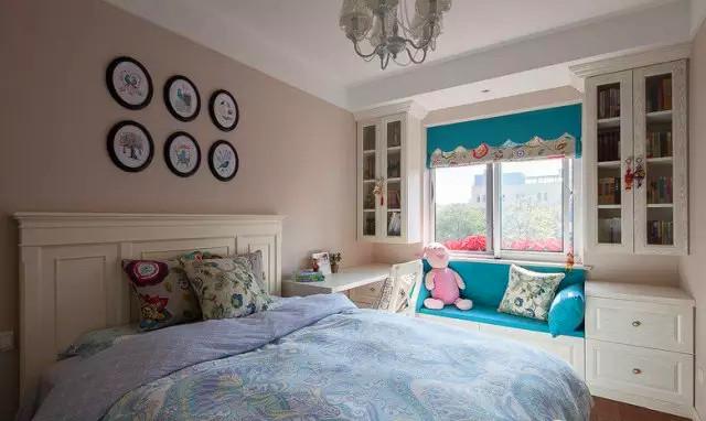 美式 小清新 二居 客厅 六里屯 儿童房图片来自高度国际装饰宋增会在六里屯小区80平美式小清新的分享