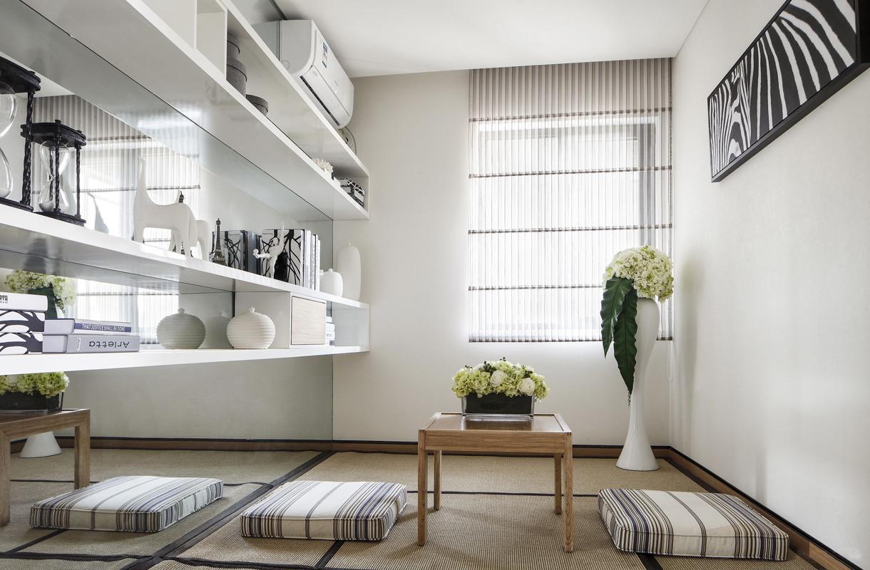 简约 公寓 收纳 书房图片来自张勇高级室内设计师在泛海国际时尚简约风格效果展示的分享