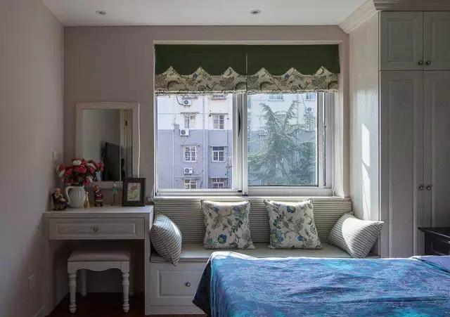 美式 小清新 二居 客厅 六里屯 卧室图片来自高度国际装饰宋增会在六里屯小区80平美式小清新的分享