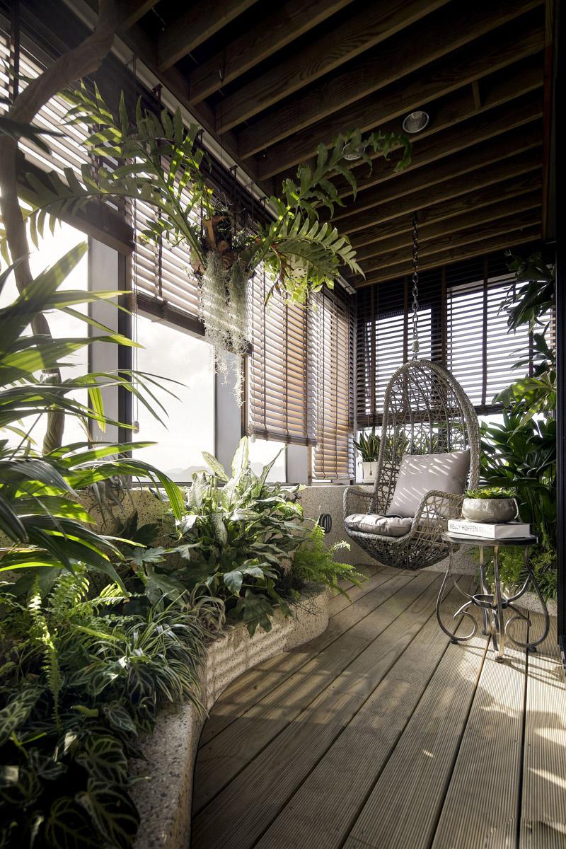 简约 别墅 阳台图片来自张勇高级室内设计师在泛海国际现代简约风格效果展示的分享