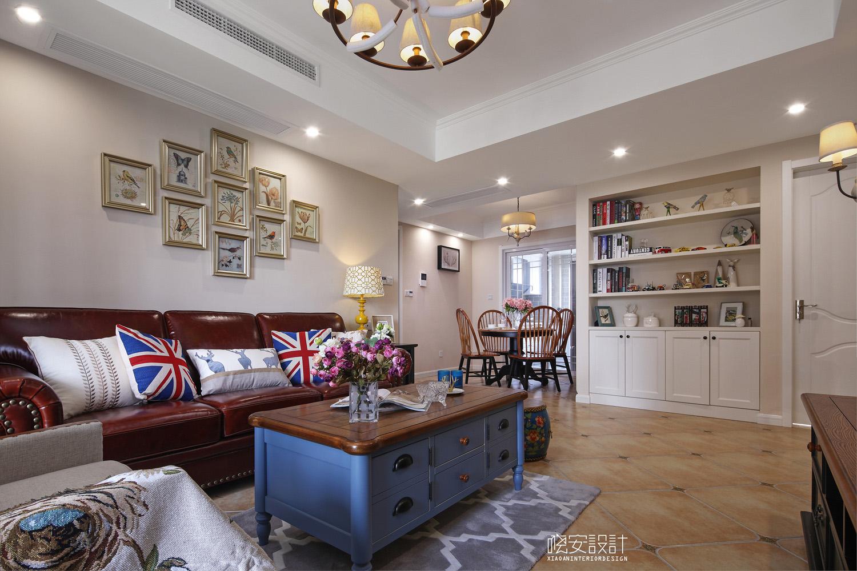 简约 三居 白领 收纳 旧房改造 80后 小资 客厅图片来自周晓安在晓安设计|陌上花开的分享