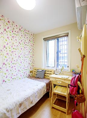 简约 宜家 三居 小资 儿童房图片来自家装大管家在合理布局 93平清新宜家简约空间的分享