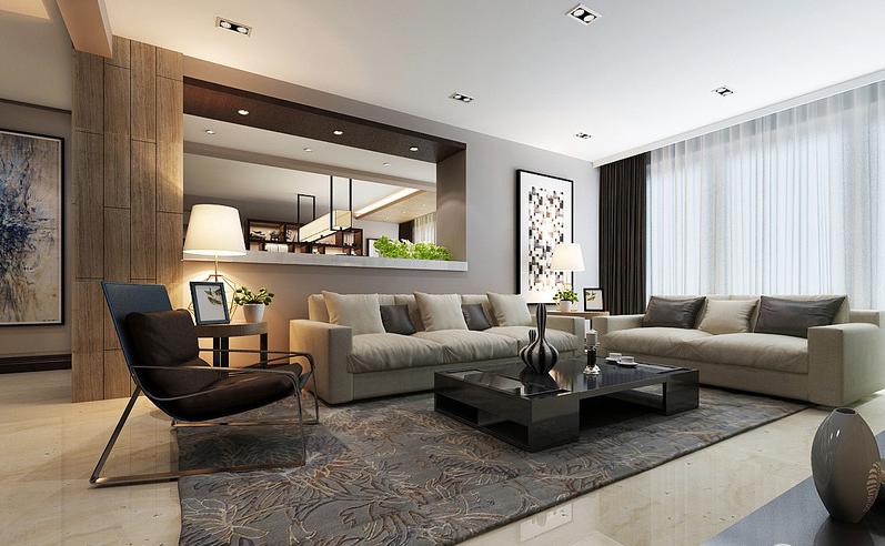 简约 现代 客厅图片来自苹果装饰在焕活新锐 别致简约设计的分享