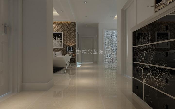 简约 二居 旧房改造 80后 玄关图片来自北京精诚兴业装饰公司在简单大气 现代风格装修的分享