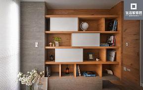 宜家 北欧 书房图片来自武汉生活家在广电江湾新城三室两厅89平北欧风的分享