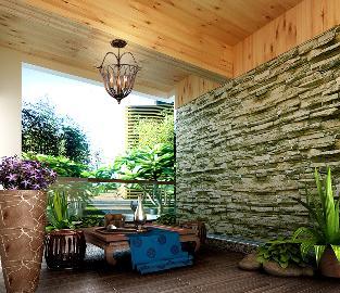 常青花园十小区现代风格案例