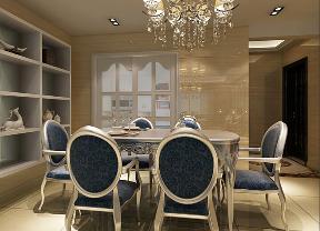 欧式 四居 小资 温馨 时尚 餐厅图片来自武汉一号家居网装修在石桥花园欧式风格实景图案例的分享
