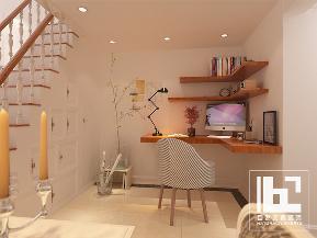 美式 现代 简约 白领 收纳 旧房改造 小资 书房图片来自深圳自然元素装饰在宝安区雅然居复式设计方案的分享