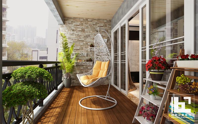 简约 现代 三居 白领 收纳 小资 阳台图片来自深圳自然元素装饰在深圳市鼎太风华设计方案的分享