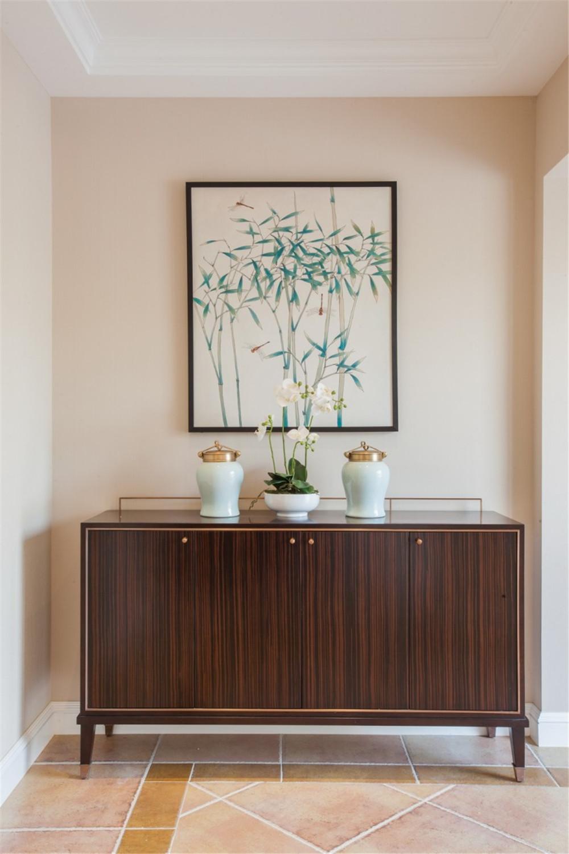 北欧 高端公寓 四居 玄关图片来自张勇高级室内设计师在泛海国际北欧极简风格效果展示的分享