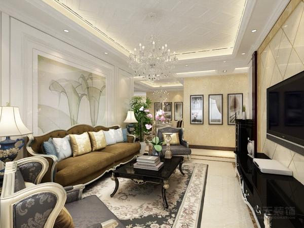 本案为香邑国际标准户型3室2厅1卫1厨119.2㎡的户型。这次的设计风格定义为简欧风格。