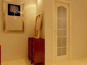 新古典 白领 欧式 玄关图片来自天津京尚装饰在京尚装饰-宝安-新古典两居88㎡的分享