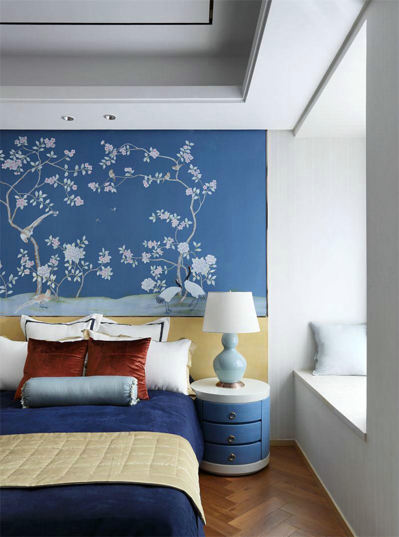 中式 简约 卧室图片来自张勇高级室内设计师在北京院子中式设计案例效果展示的分享