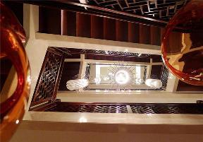 简约 三居 中式 楼梯图片来自张勇高级室内设计师在北京院子新中式平墅设计案例展示的分享