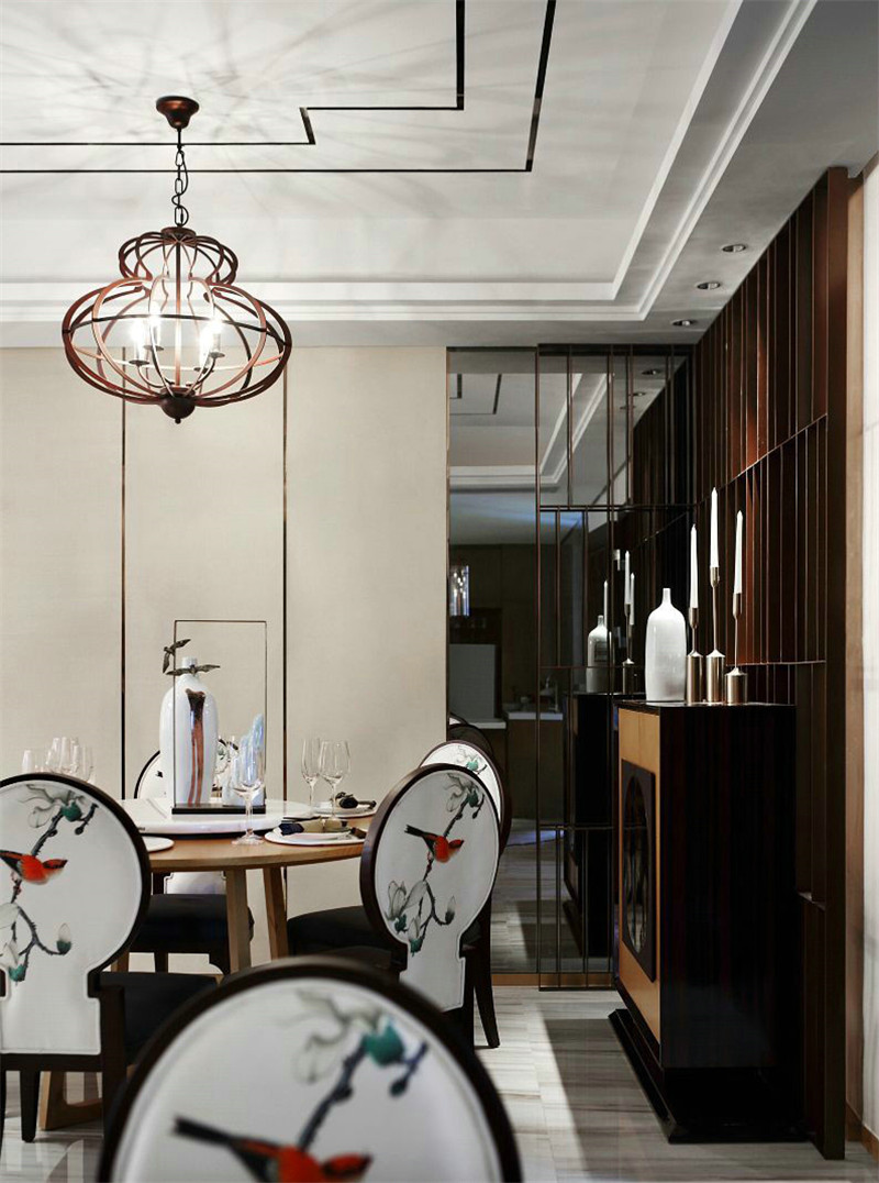 中式 简约 餐厅图片来自张勇高级室内设计师在北京院子中式设计案例效果展示的分享