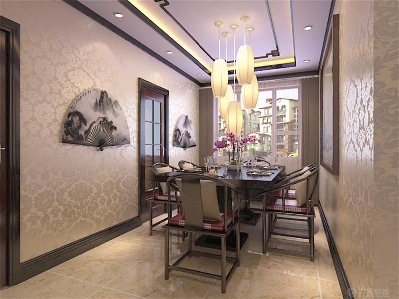 餐厅图片来自阳光力天装饰在新中式风格 玺岳  138㎡的分享